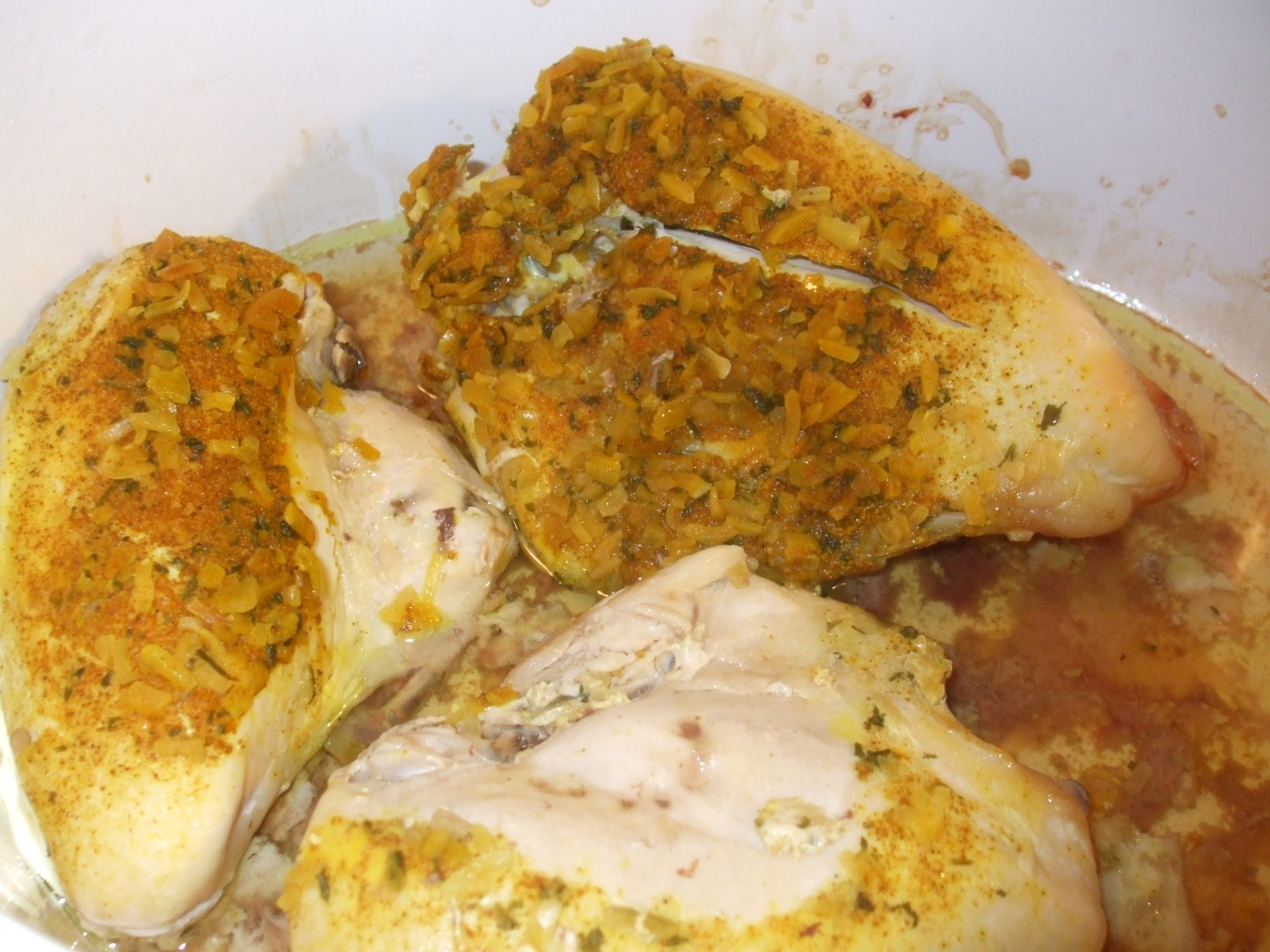Slow Cooker Chicken With Homemade Onion Soup Mix Mamal Diane