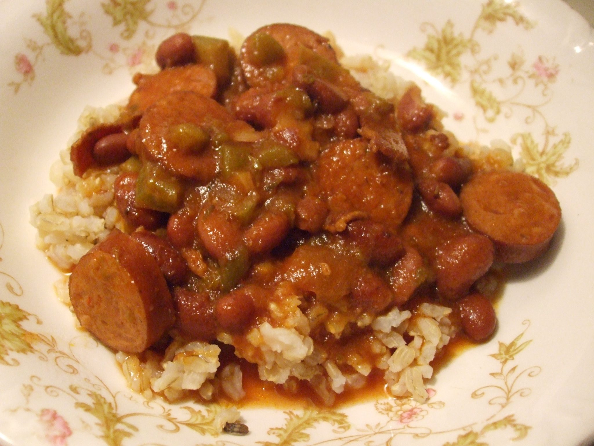 Red Beans and Rice - Mamal Diane