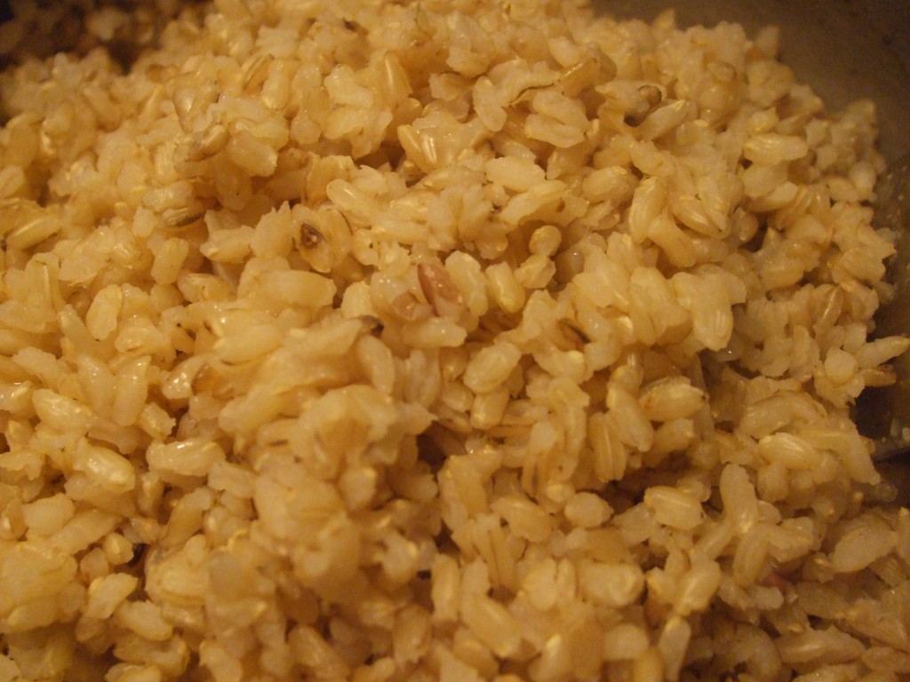 how to cook whole wheat rice