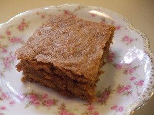 Whole Wheat Snickerdoodle Bars