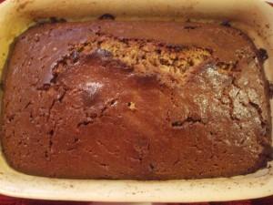Whole Wheat Sour Cream Pound Cake