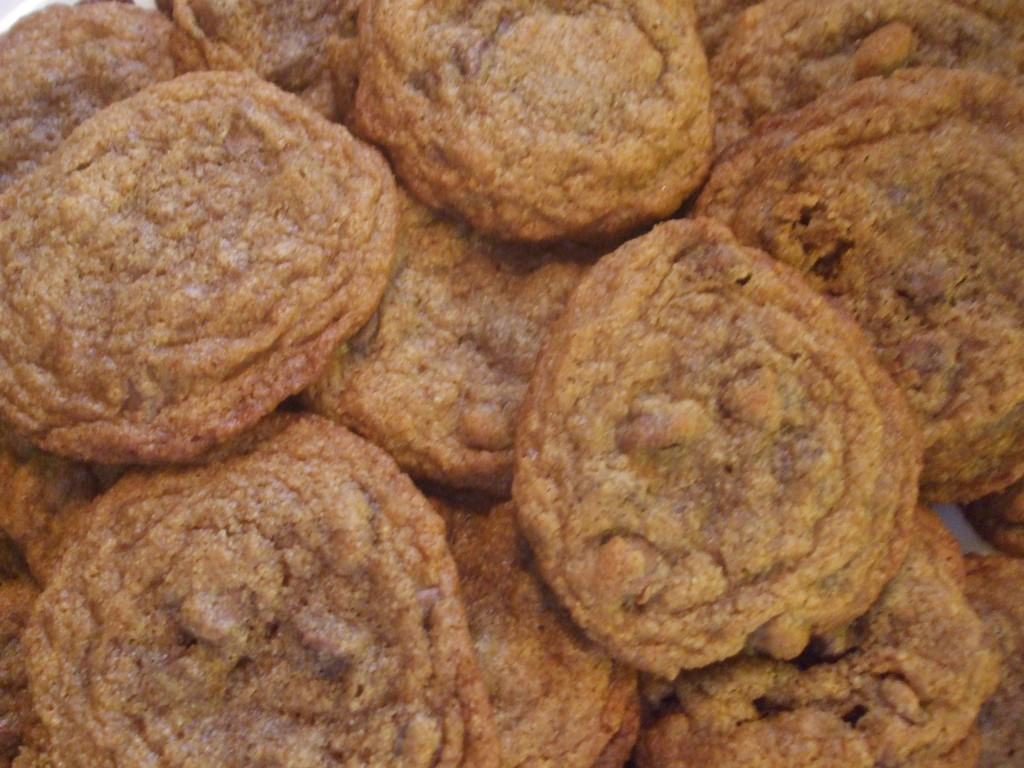 Whole Wheat Chocolate Chip Cookies – Mamal Diane