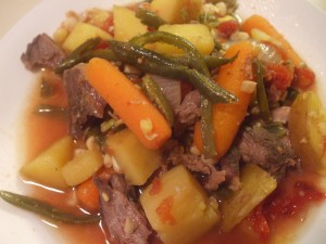 Chuck Roast with Vegetables in the Slow Cooker