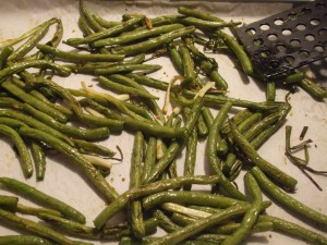 how to cook green beans out of the garden