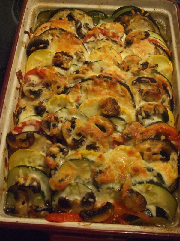 Summer Vegetable Bake 012