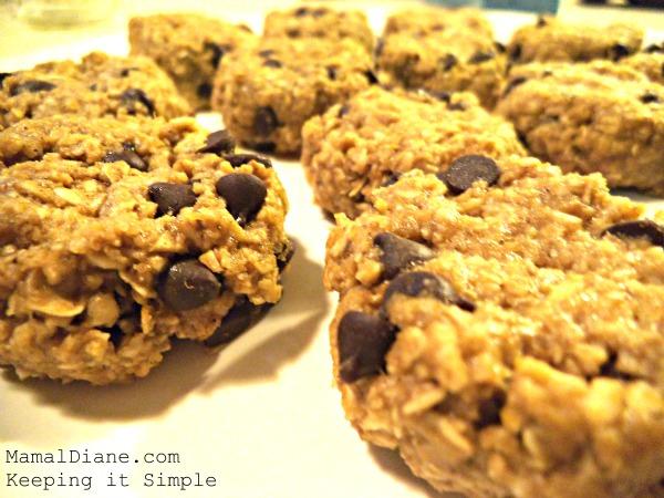 No Bake Pumpkin Oatmeal Cookies a
