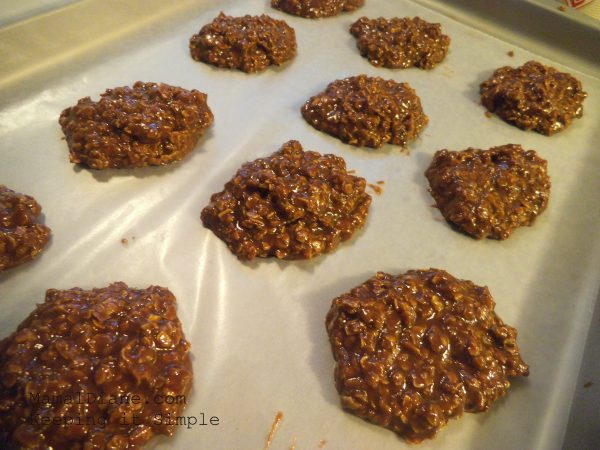 No Bake Chocolate Peanut Butter Oatmeal Cookies 016