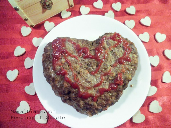 Meatloaf Heart Shaped 018