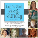Let's Get Social Sunday button