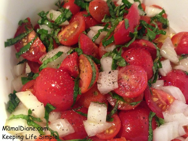 Cherry Tomatoes with Basil 026