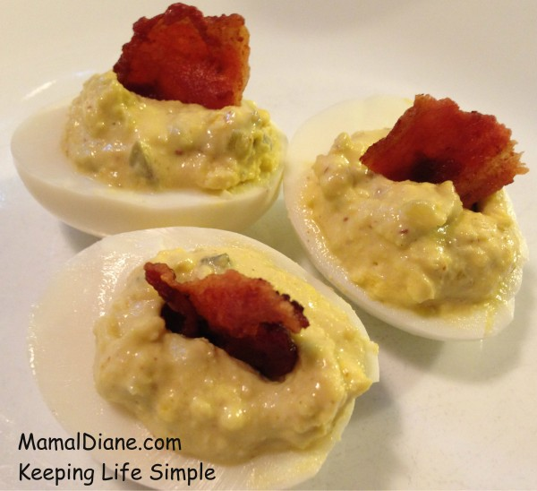Crispy Bacon Deviled Eggs 025