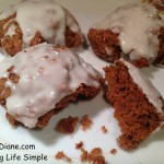 Glazed Pumpkin Cookies 129