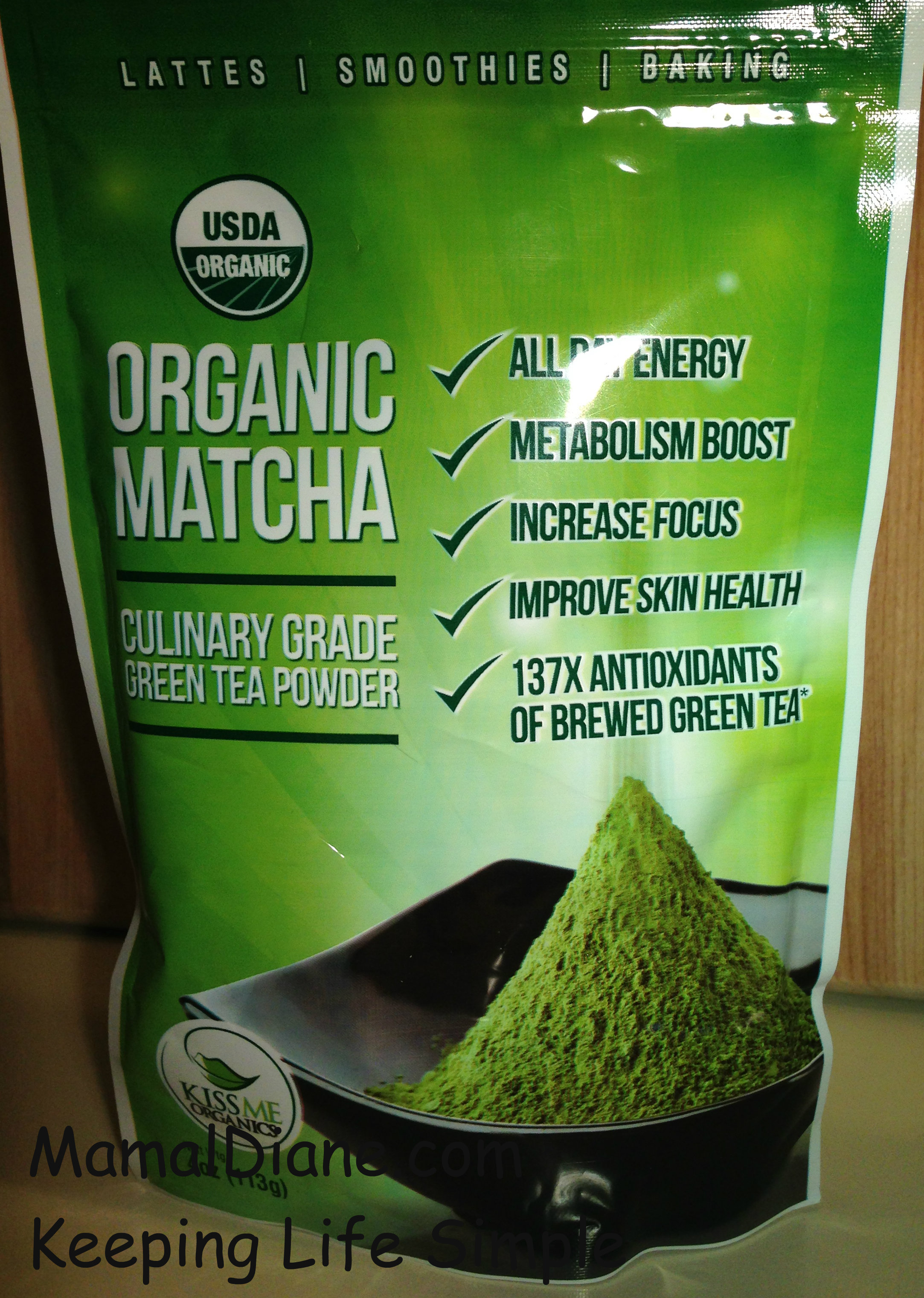 Organic Matcha Green Tea Powder Review Mamal Diane