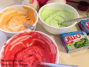 Rainbow Cupcakes Made With Jello 061
