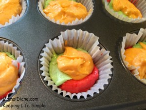 Rainbow Cupcakes Made With Jello 072