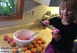 Rainbow Cupcakes Made With Jello 089
