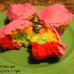 Rainbow Cupcakes Made With Jello 099
