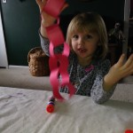 Red Paper Chain ~ Preschool Craft 025