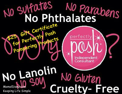 Perfectly Posh Contest banner March 2014