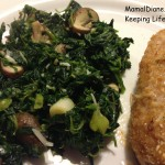 Spinach and Mushrooms 6