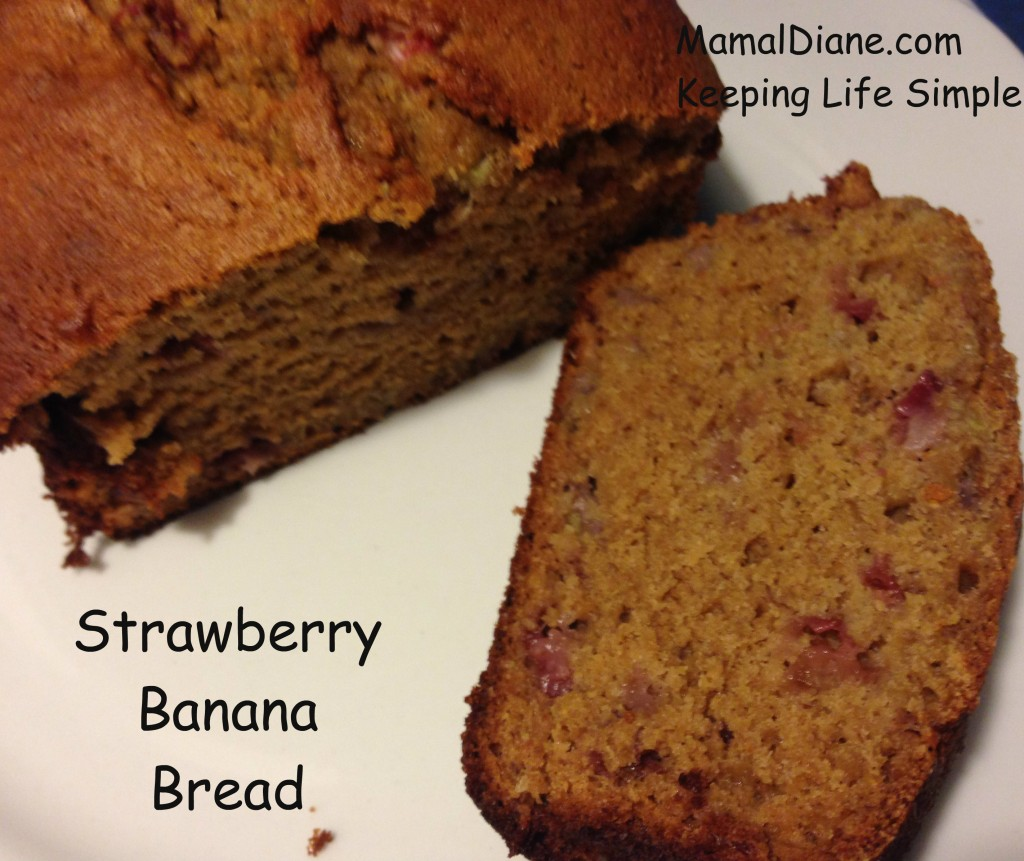 Strawberry Banana Bread 0