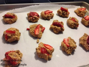 Strawberry Oatmeal Cookies 011