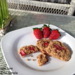 Strawberry Oatmeal Cookies 044