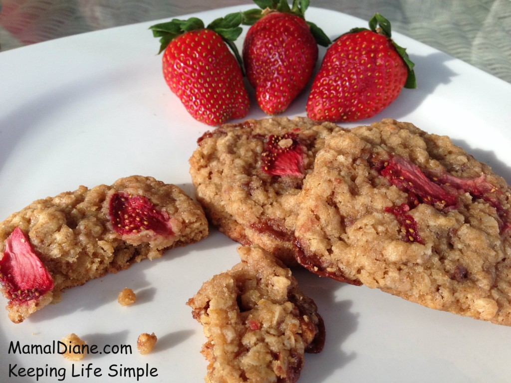 Strawberry Oatmeal Cookies 047
