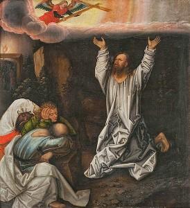 what was Jesus thinking