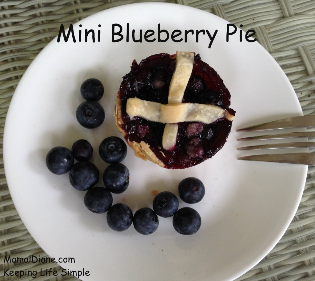 Mini Blueberry Pie 11
