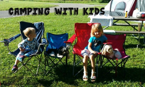 katie and tyler camping