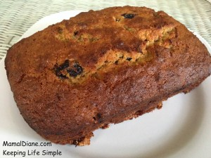 Blueberry Banana Oatmeal Bread 8