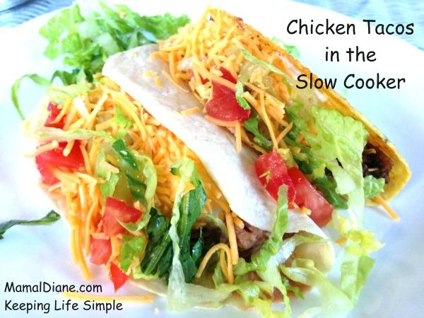 Chicken Taco a