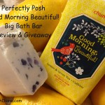 Perfectly Posh Good Morning Beautiful Bath Bar 1