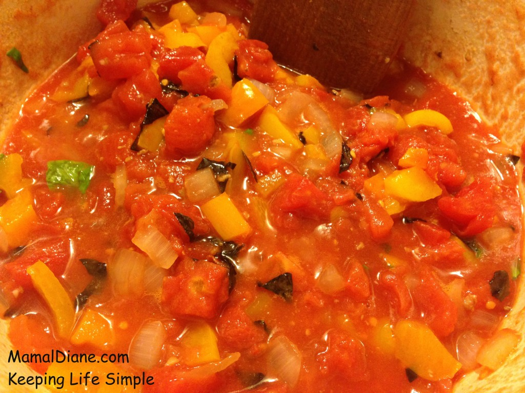Simple Summer Spaghetti Sauce 139
