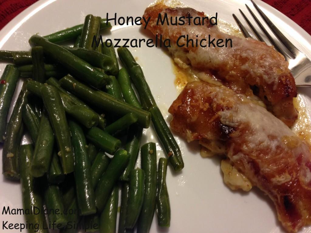 Honey Mustard Mozzarella Chicken 105