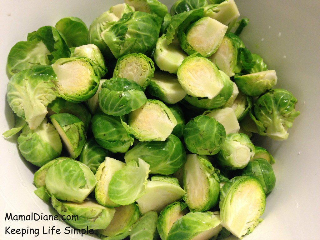 Roasted Brussel Sprouts with Bacon 002