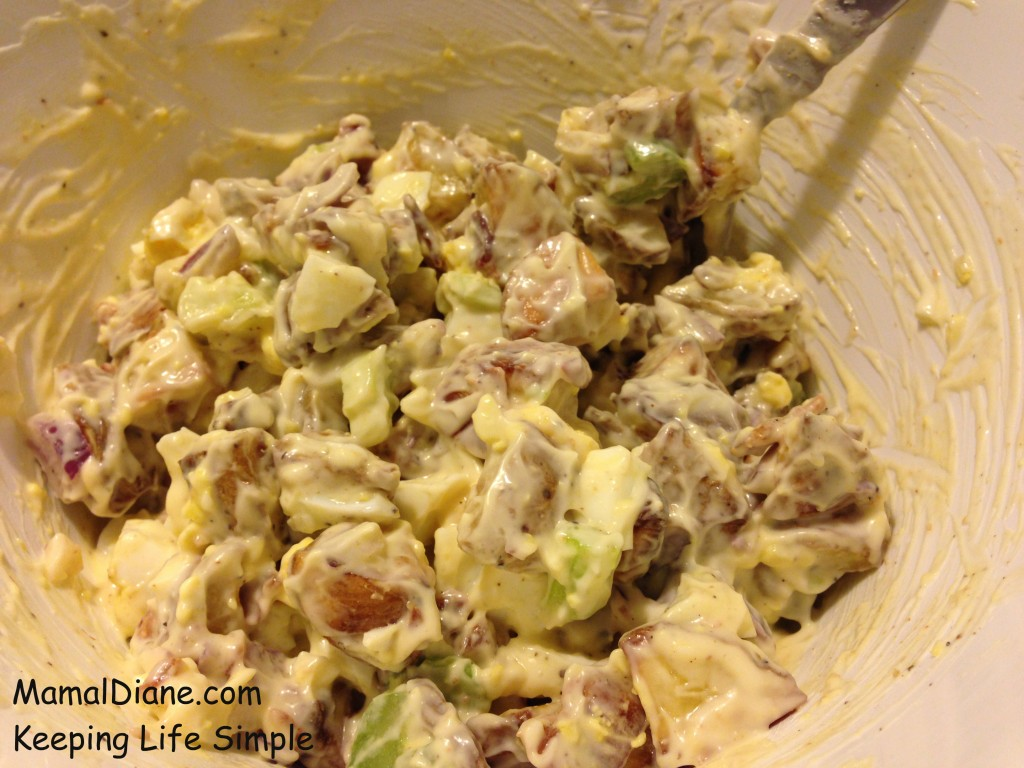 Roasted Potato Salad with Bacon 044