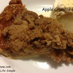 Apple Crumb Pie 041