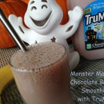 Monster Mashing Chocolate Banana Smoothie with TruMoo 144