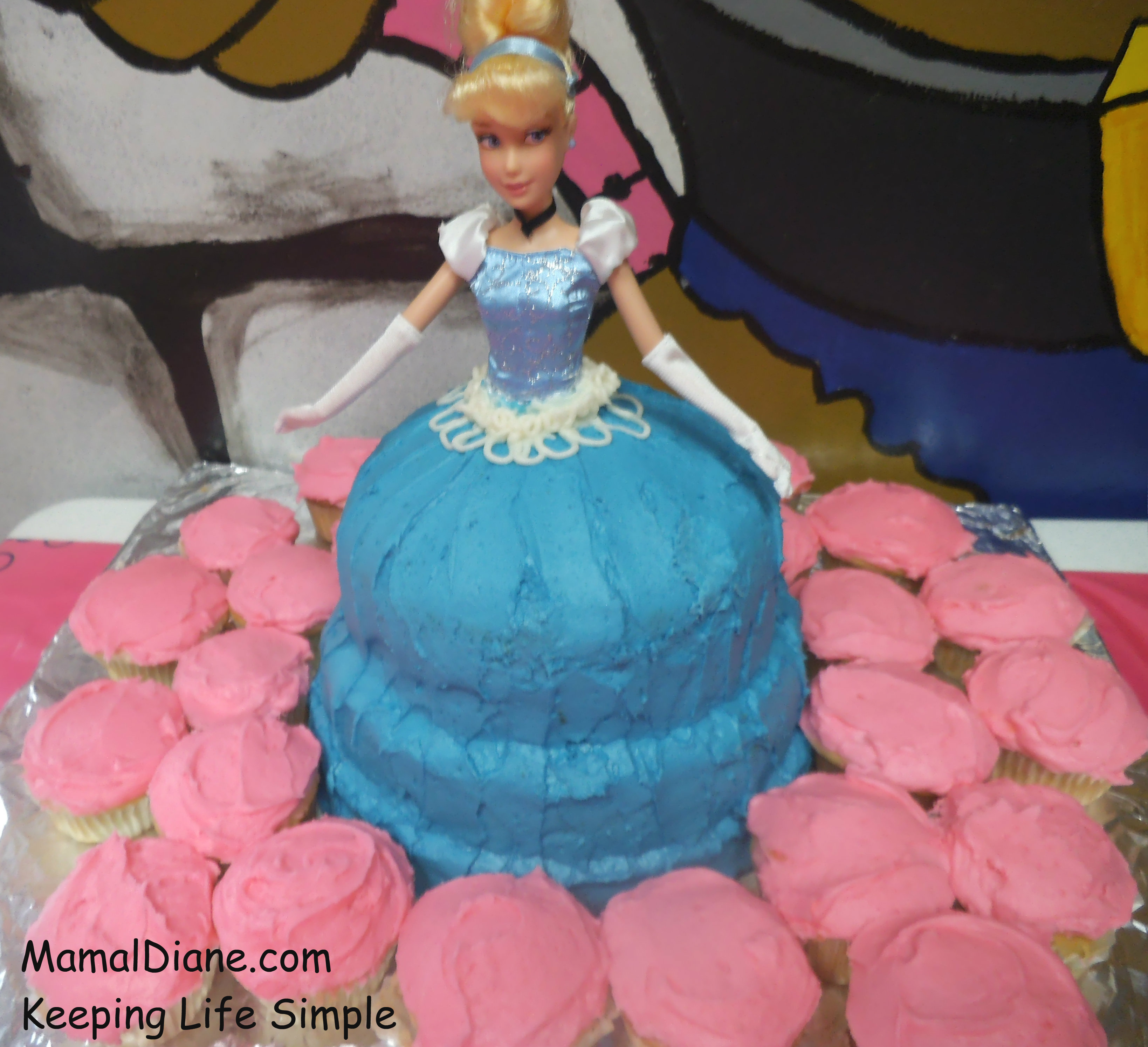 princess cupcake cake - princess cupcake cake recipe easy, index of ...