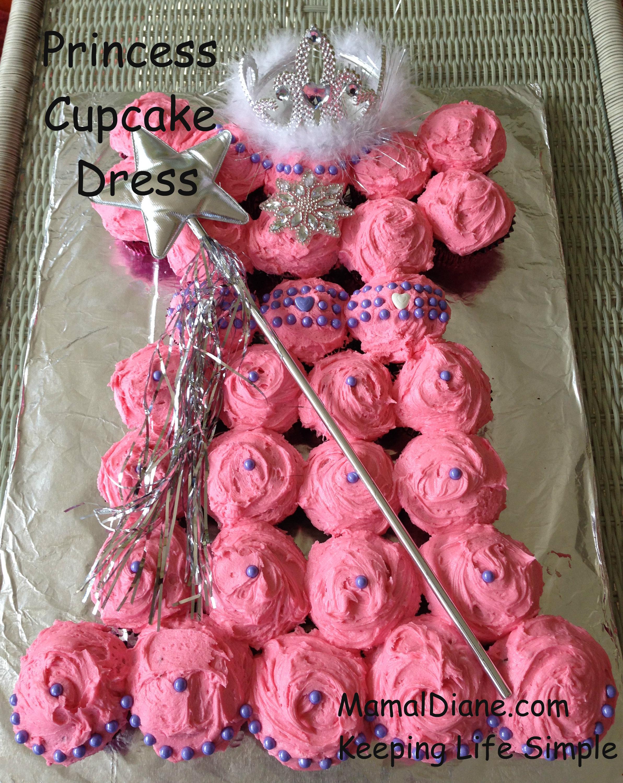 Fine Princess Cupcake Dress Mamal Diane Funny Birthday Cards Online Inifodamsfinfo