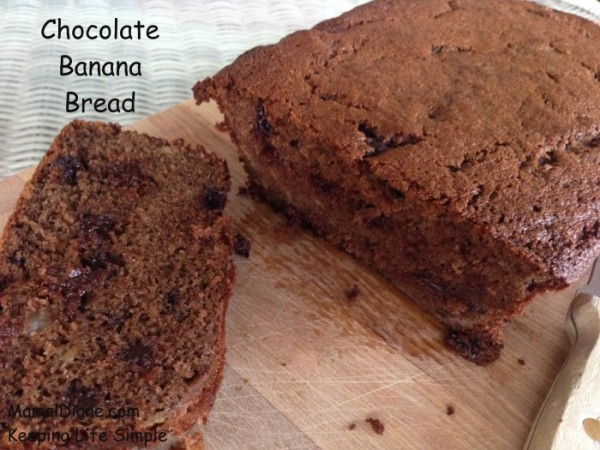 Chocolate Banana Bread 033