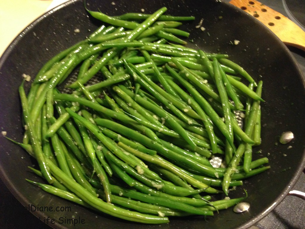 Green Beans with Rosemary & Garlic 002
