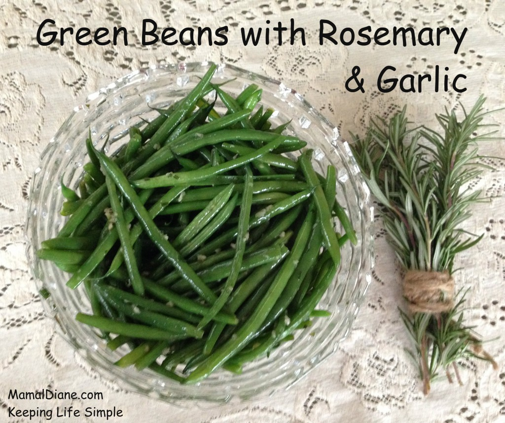 Green Beans with Rosemary & Garlic 010