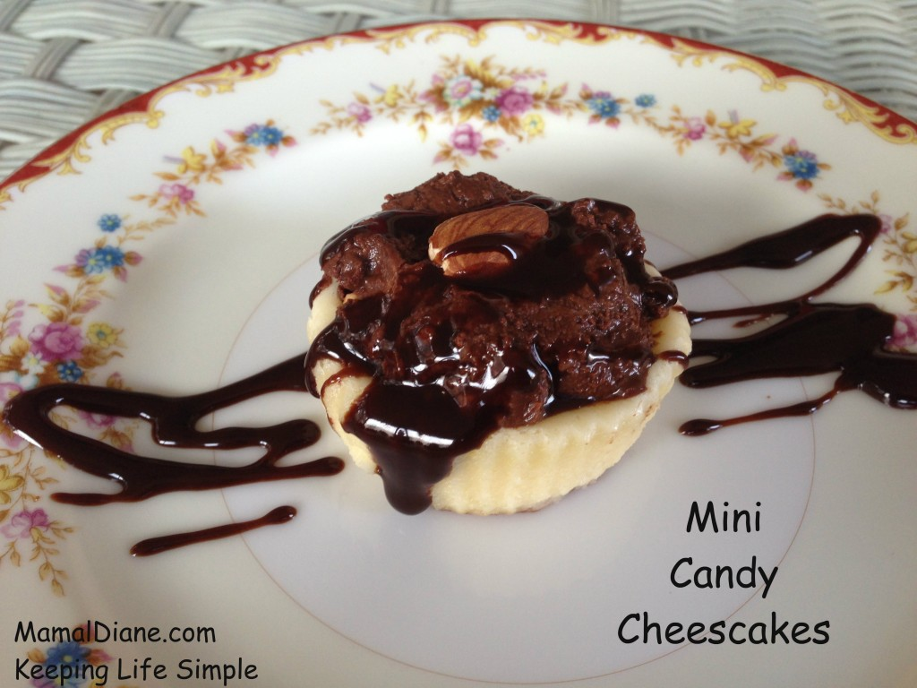 Mini Candy Cheesecakes 6