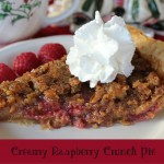 Creamy Raspberry Crunch Pie 12