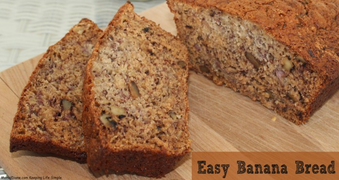 Easy Banana Bread Kraft 054
