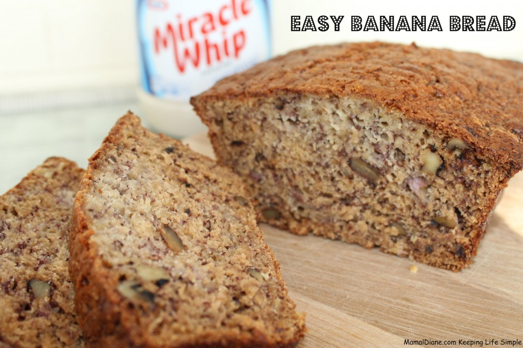 Easy Banana Bread Kraft 066