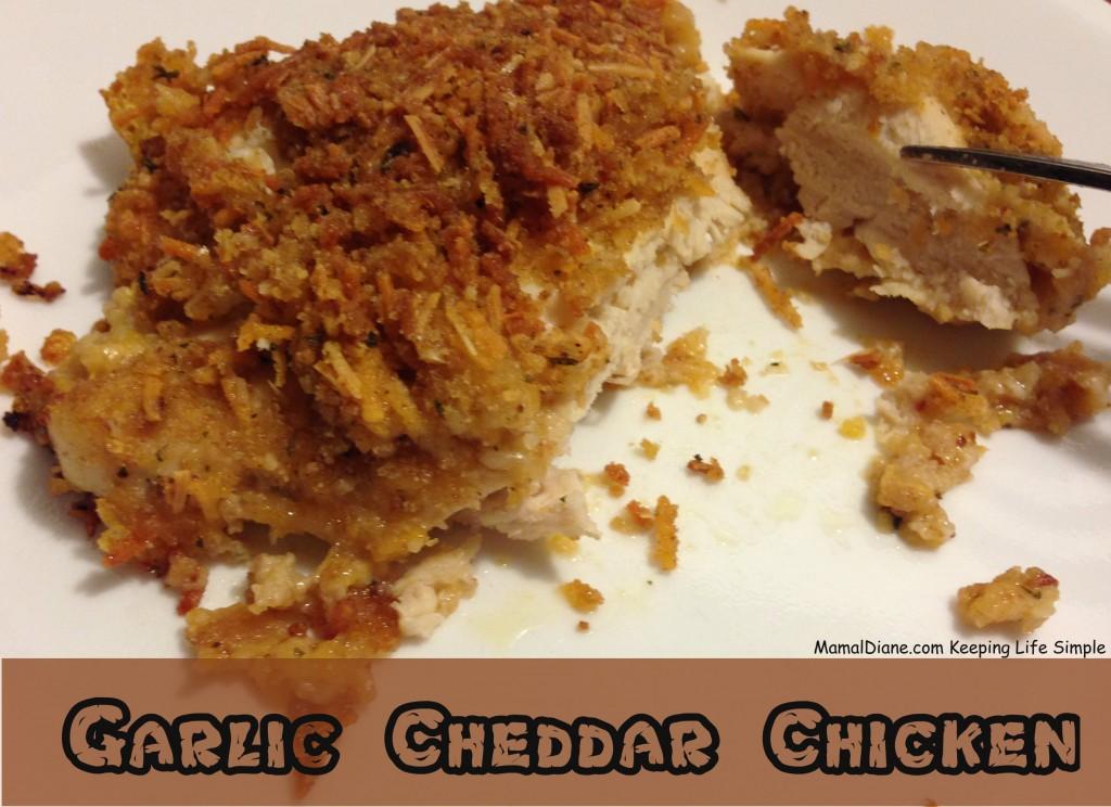 Garlic Cheddar Chicken 7